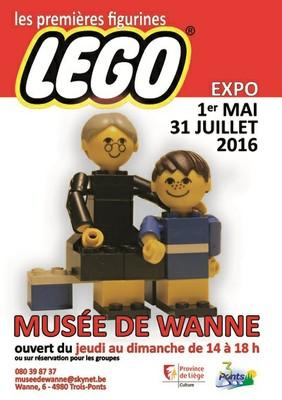 Les premières figurines Lego