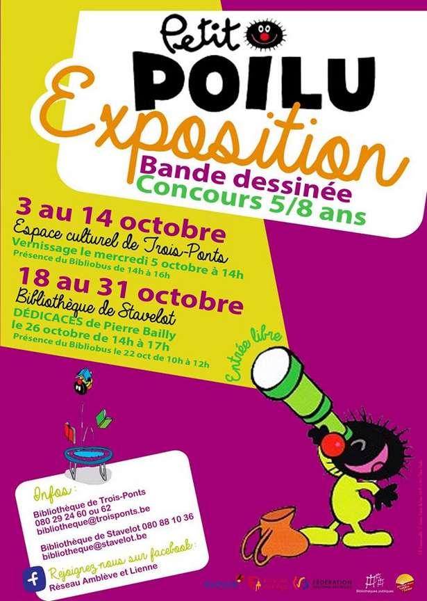 Exposition: « Petit poilu » du 03 au 14 octobre à Trois-Ponts