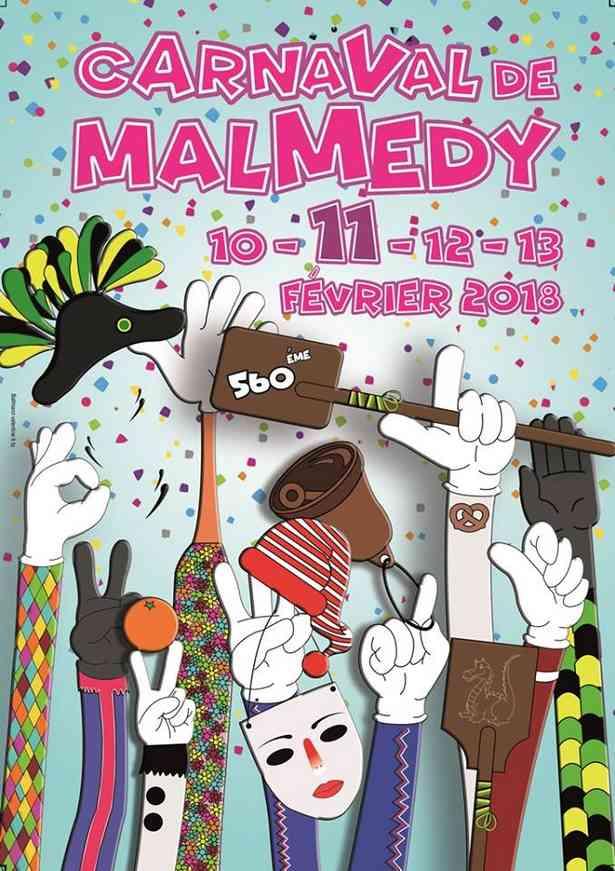 560ème Carnaval de Malmedy: les 10, 11, 12 et 13 février 2018!